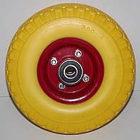 Полиуретановое колесо 3.00-4 для тачки (бескамерка)