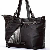 Женская сумка  черная с клепками, фото 1