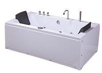Ванна акриловая с гидро- и аэромассажем TLP-658 180*90*76 см