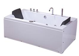 Ванна акрилова з гідро - та аеромасажем TLP-658 180*90*76 см