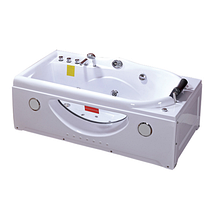 Ванна акрилова з гідромасажем, лівостороння TLP-634-G 168*85*66 см