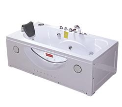 Ванна акрилова з гідромасажем TLP-633-G 168*85*66 см
