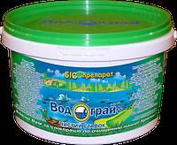 """Биопрепарат """"водограй + чистый пруд"""" для декоративных прудов, водограй 1 кг"""