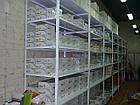 Металлический полочный стеллаж 2400х600х600 мм, 6 полок, фото 3