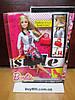 Кукла Барби модница с ресницами Barbie Style  White Jacket & Black Floral Print Skirt