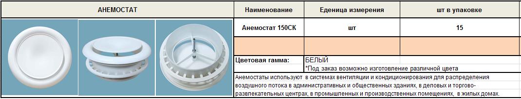 Анемостат 150СК, фото 2
