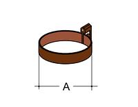 Держатель трубы Ø 100 (25)