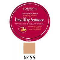 BJ Healthy Balance Compact - Пудра компактная витаминная (56-легкий загар), 9 г
