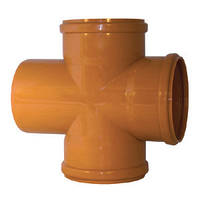Крестовина 160/160 ПВХ для внешней канализации