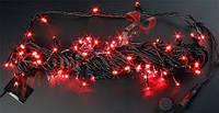 Светодиодная гирлянда нить 10м, 24v красная