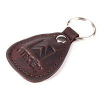 Брелок для автомобиля кожаный с логотипом Citroen (Ситроен) 540-07-33