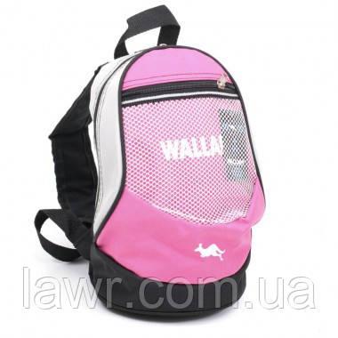 Рюкзак TM WALLABY (малиновый) 152-6, фото 1