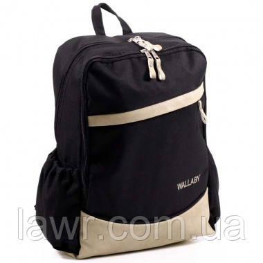 Рюкзак городской TM WALLABY (черный) 157-1, фото 1