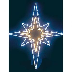 Светодиодный мотив Звезда 62*55 см
