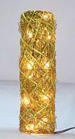 Светодиодный арт - декор Плетёная ваза