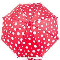 Зонт детский трость полуавтомат Doppler 72780D-1 Красный