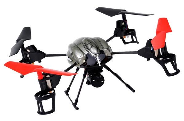 Квадрокоптер р/у 2.4Ghz WL Toys V999 Rescue подъёмный кран СЕРТИФИКАТ