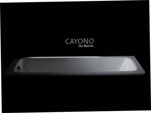 Ванна стальная Cayono Kaldewei  170x75 mod 750 Кайоно Kалдевей, фото 2