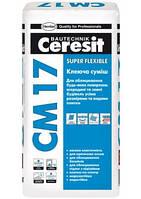 Клей для плитки CM17 25кг Церезит
