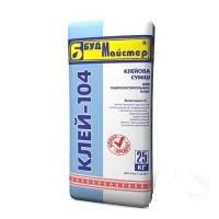 КЛЕЙ-104 Клеющая смесь цементная для пенопласта 25кг