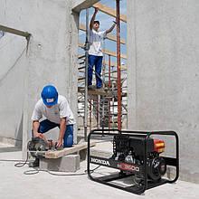 Генератор /миниэлектростанция Honda EC 5000GV
