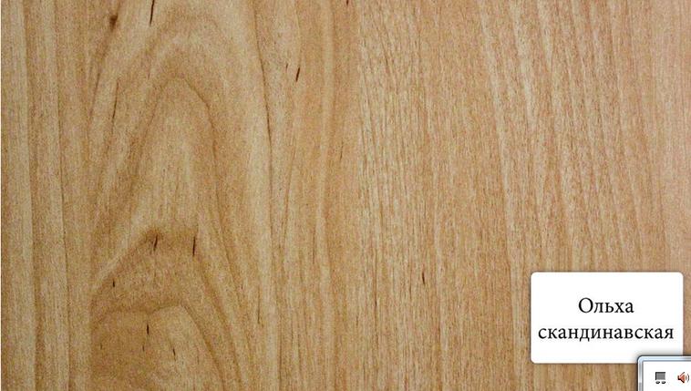Панель МДФ Премиум Ольха Скандинавская 198*2600мм, фото 2