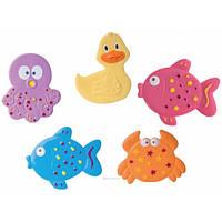 """Коврики для купания """"Цветной океан"""" мини, 5 шт. Canpol Babies"""