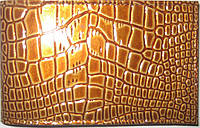 Визитница цвет золотой