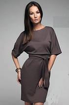 Платье Стиль коричневое, фото 2