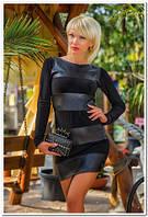 Стильное Платье Гламур черное