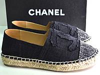 Эспадрильи женские брендовые  на платформе