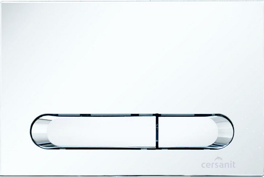 Кнопка инсталяционной системы Hi-Tec Tear белая Церсанит