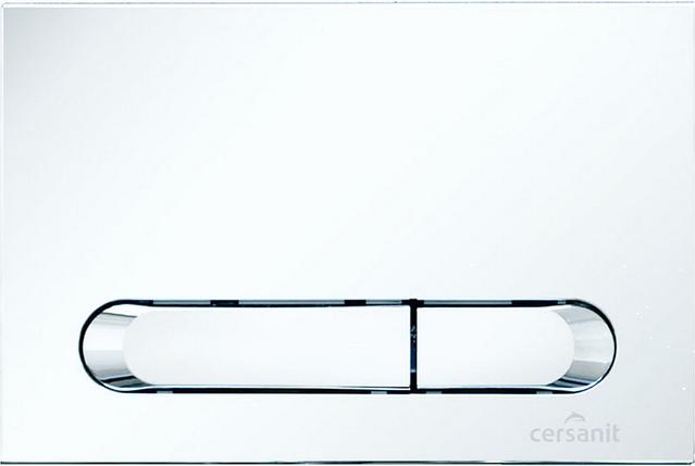 Кнопка инсталяционной системы Hi-Tec Tear белая Церсанит, фото 2