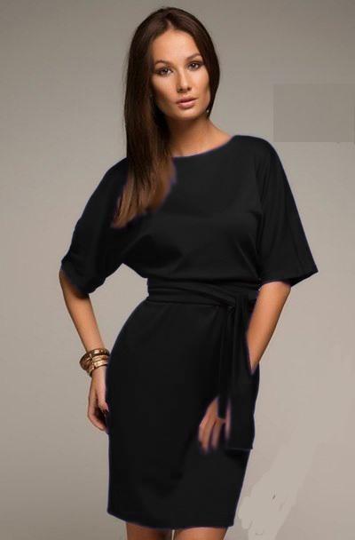 Платье Стиль черное