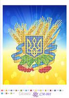 """Схема для вышивки """"Украинская символика"""""""