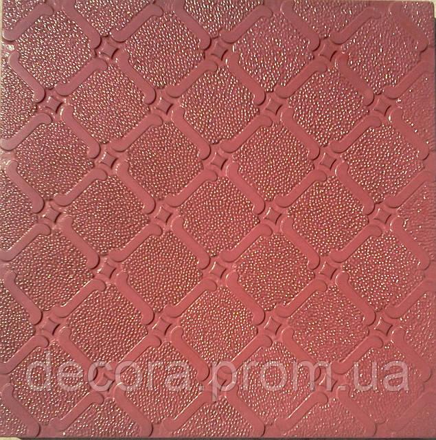 Формы для тротуарной плитки «Орнамент №4»  глянцевые пластиковые АБС ABS