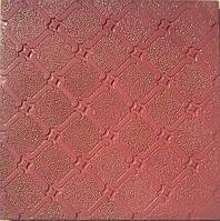 Формы для тротуарной плитки «Орнамент №4»  глянцевые пластиковые АБС ABS, фото 1
