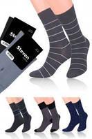 Элегантные мужские  деловые носки с узором фирмы Steven