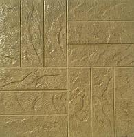 Формы для тротуарной плитки «Паркет каменный » глянцевые пластиковые АБС ABS