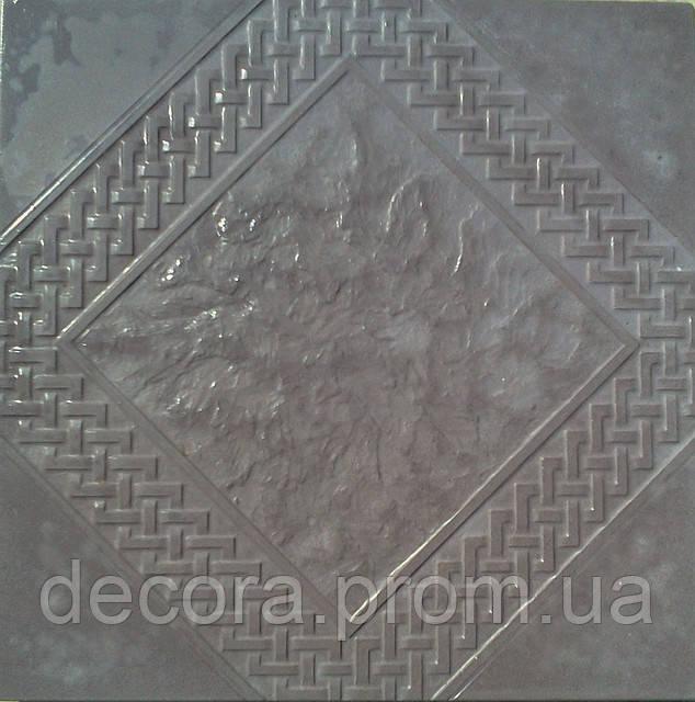 Формы для тротуарной плитки «Орнамент №5» глянцевые пластиковые АБС ABS