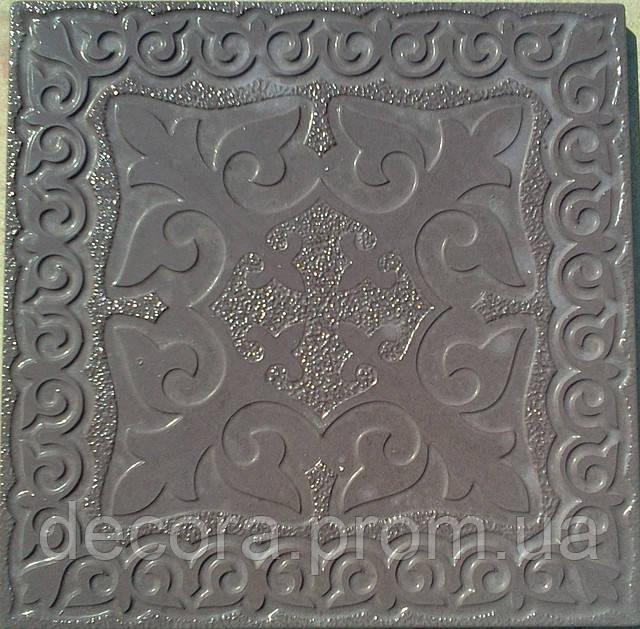 Формы для тротуарной плитки «Орнамент №6 » глянцевые пластиковые АБС ABS