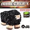 "Черная овечка из Майнкрафт - ""Black Sheep"" - 26 х 20 см"