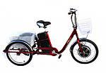 Электровелосипед трехколесный грузовой