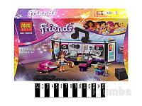 """Конструктор Brick 10403 """"Friends""""  """"Студия звукозаписи поп-звезды"""", 175 деталей"""