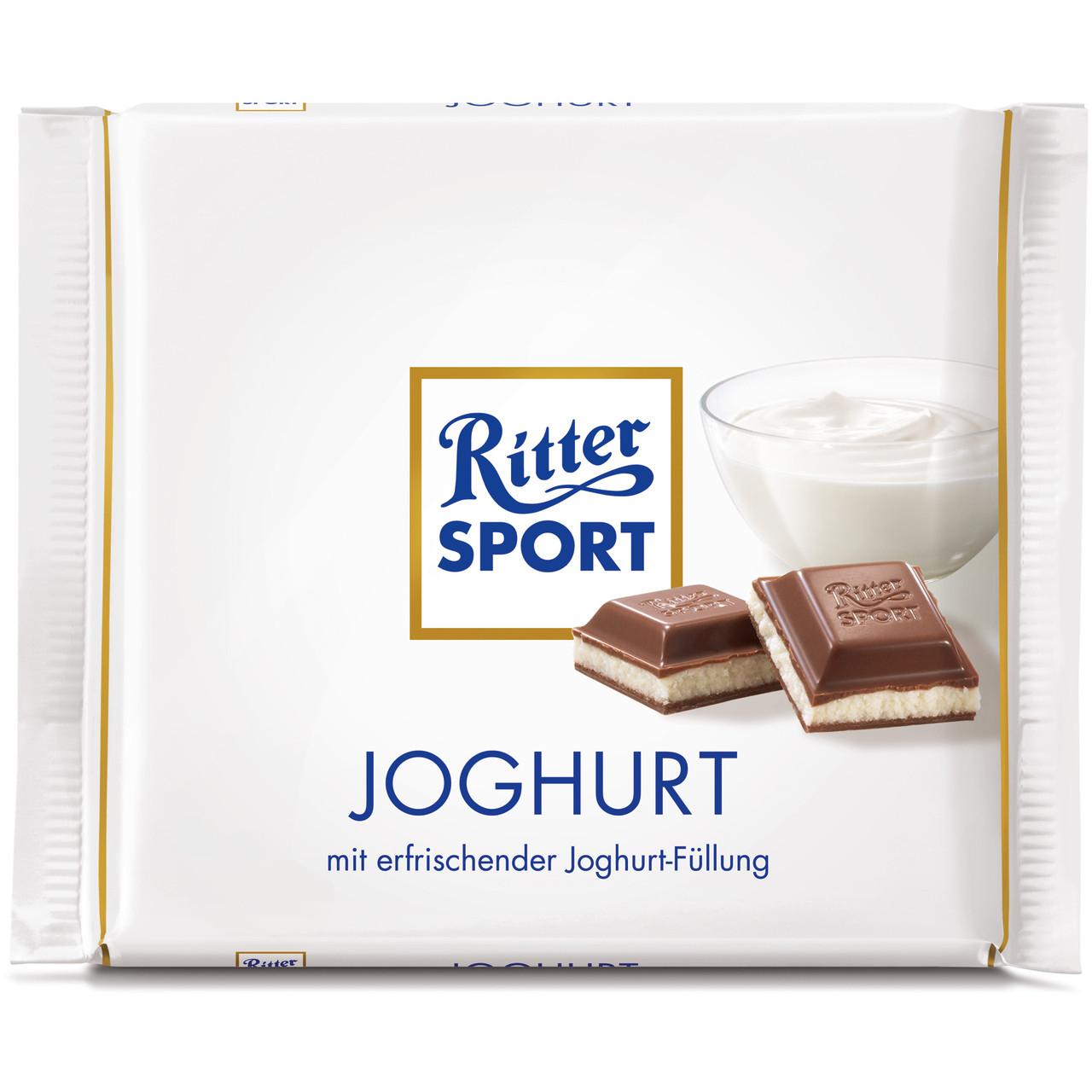 Шоколад Ritter Sport Joghurt (Риттер Спорт с йогуртом), 100 г