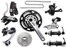 Велосипедные запчасти и аксессуары