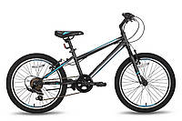 Детский велосипед 20'' PRIDE JACK 6 черно-синий матовый 2016