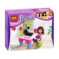 "Конструктор Brick 10126 ""Friends""  ""Лаборатория Оливии"", 28 деталей"
