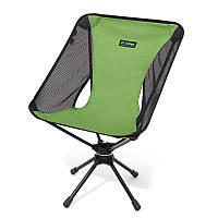 Раскладное кресло Helinox Swivel Chair, вращающееся на 360° Meadow Green / Black