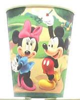 Микки и Мини Маусы - Стаканчики праздничные бумажные